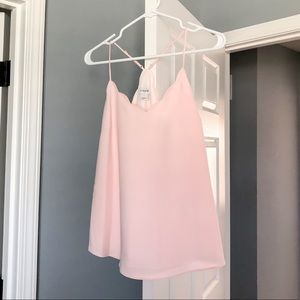 NWT J Crew Pink Scalloped Cami Size 6